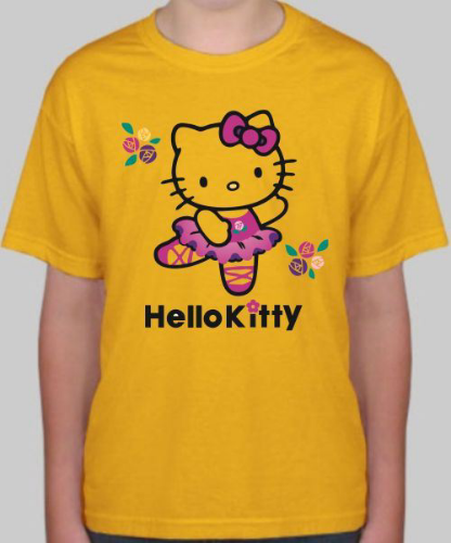 Изображение Футболка детская Hello kitty
