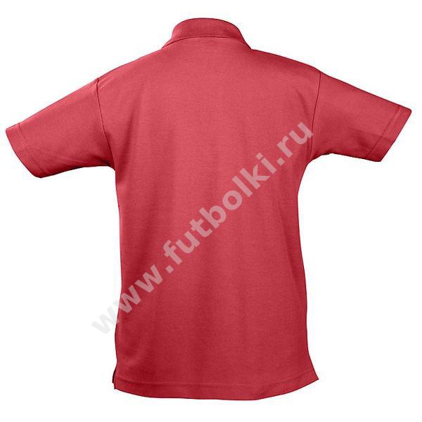 3fe20f88ee4 Рубашка поло детская Summer Iкрасная купить в Москве недорого