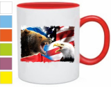 Кружка Bear vs Eagle