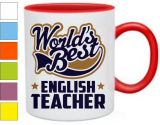 Кружка English teacher