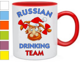 Кружка Russian drinking team