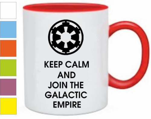 Изображение Кружка Keep calm and join the galactic empire