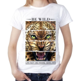 Футболка женская Be wild, live fast - die young - have fun