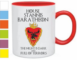 Кружка House stannis baratheon, игра престолов