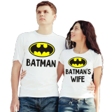 Футболки парные Batman и Batman's wife