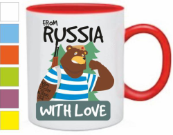 Изображение Кружка From Russia with love