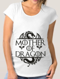 Футболка для беременных Mother of dragon