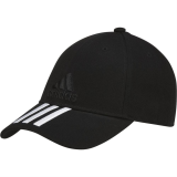 Бейсболка Adidas Six-panel classic 3-stripes, черная