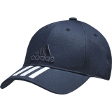 Бейсболка Adidas Six-panel classic 3-stripes, темно-синяя