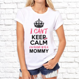 Футболка женская I can't keep calm i'm going to be a mommy