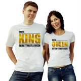 Футболки парные only King Queen
